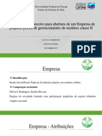 Projeto Economia