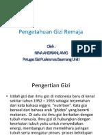 Pengetahuan Gizi Remaja.pptx