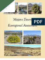 The Nature Conservancy's Mojave Desert Ecoregional Assessment 2010