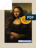 Year 9 - Mona Lisa Form (1)