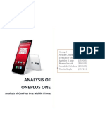 293627002 Section B Group 5 Product Analysis OnePlusOne (1)