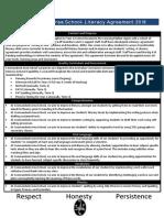 literacy agreement statement 3