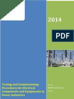 Electrical Testing Procedure