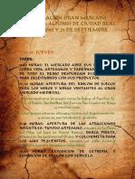 Programación Mercado Medieval Alfonsí Ciudad Real Septiembre 2018
