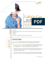 Called to Care - Activity