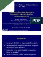 Agricultura y Seguridad Aliment Aria