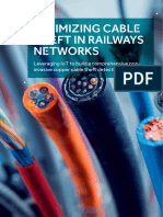 Minimizing Cable Theft in Railways Networs Cyient
