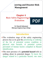4.0 Basic of Safety Engineering Hazard Evaluation