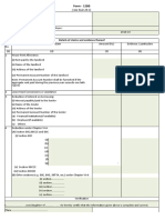 Form - 12bb of Income Tax