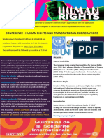 Conference on Human Rights and Transnational Corporations