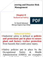 8.0. Industtrial Safety