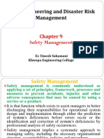 9.0. Safety Management