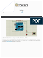 Arduino Simulation Projects Using Arduino Simulation Library Models