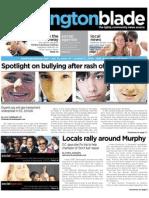 washingtonblade.com - vol. 41, issue 41 - october 8, 2010