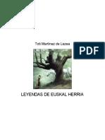 Leyendas de Euskal Herria, Toti Martinez de Lezea