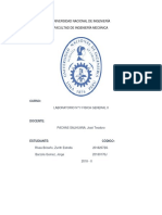 Informe de laboratorio 1 Física 2