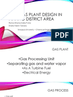 New Gas Plant Design in Pinang District Area