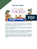 Dia Del Folclore