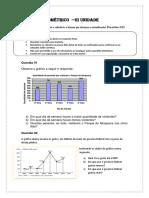 Matemática Estatística 3 Unidade