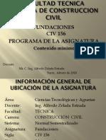 (0) Programa de La Asignatura
