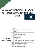 EVALUASI PENILAIAN PETUGAS UPT PUSKESMAS PARDASUKA.pptx