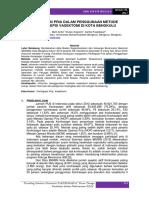 16. Partisipasi Pria Dalam Penggunaan Metode Kontrasepsi Vasektomi Di Kota Bengkulu