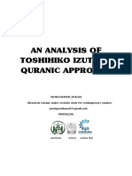 thoshihiko izutsu and his ethical quran approach Research Paper Jurais.. Izutsu