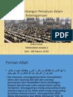 Islam Membangun Persatuan dalam Keberagamaan.pptx