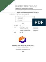 Laporan Praktikum Teknik Perawatan (Kel4)