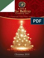 The Belfray Country Inn - Christmas 2018