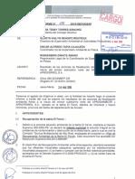 INFORME DE OEFA SOBRE EL FUNCIONAMIENTO DE APROFERROL