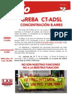 Ct-Adsl Greba Concentración