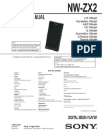 Service Manual NW-ZX2 1.0