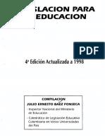 Principios Legislativos - Normatividad Educativa - 2018