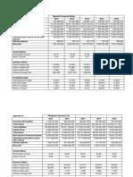 Appendices Financial Ratios