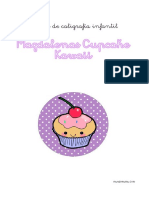 Caligrafia Cupcakes