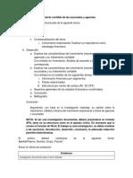 Indicaciones Evaluación Sucursales Agencias