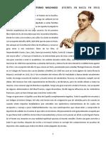 Antonio Machado- Vida y poemas