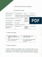 1 - Documento de Oficialização de Demanda
