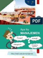 Manajemen Produksi 2