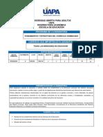 Fundamentos y Estructura Del Curriculo Dominicano  Pendiente