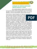 Creación y Difusión de Material impreso, audiovisual y virtual con el Club del Pensamiento Positivo