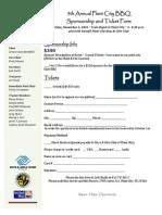 2010 Plant City BBQ Sponsor Form