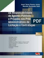 Da Responsabilidade Dos Agentes Públicos e Privados em Contratações Públicas