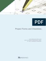 Proj Forms and Cklists