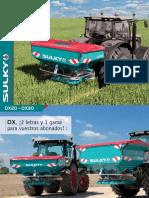 Catálogo abonadora Sulky DX