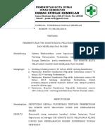 9.4.1.b.c Sk Pembentukan Tim Komite Mutu