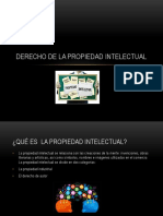 Exposicion .. Derecho de La Propiedad Intelectual