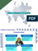 Customs Procedures