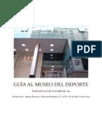 Guía Al Museo Del Deporte